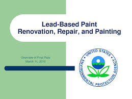 Blacktrail environmental specializing in phase i esa for Lead based paint inspection